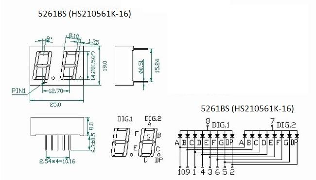 5261BS (HS210561K-16)