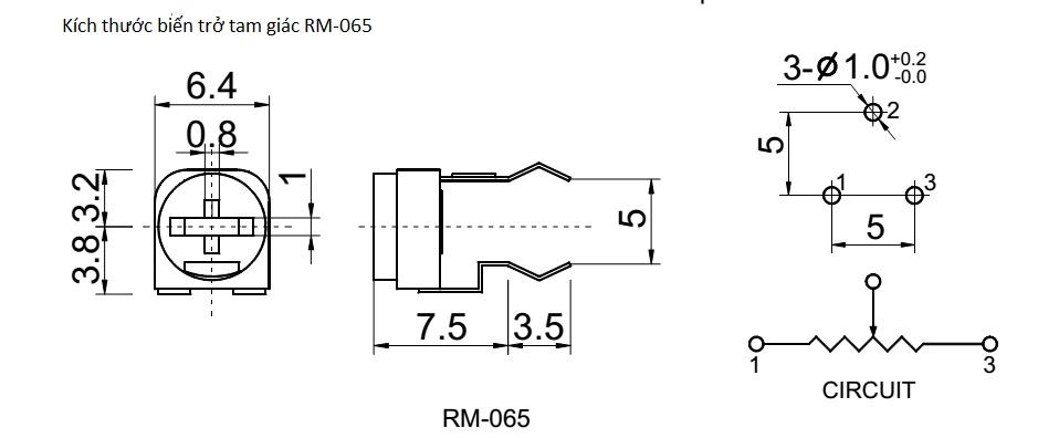 Kich thuoc RM-065