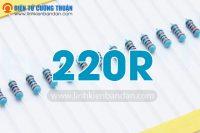 dien tro 220R 1-4w