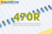 dien tro 470R 1-4w